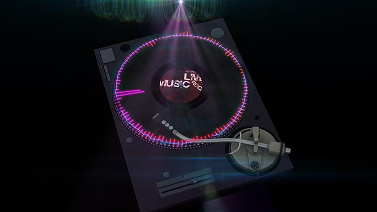 Element 3D and Audio Spectrum Tutorial 5