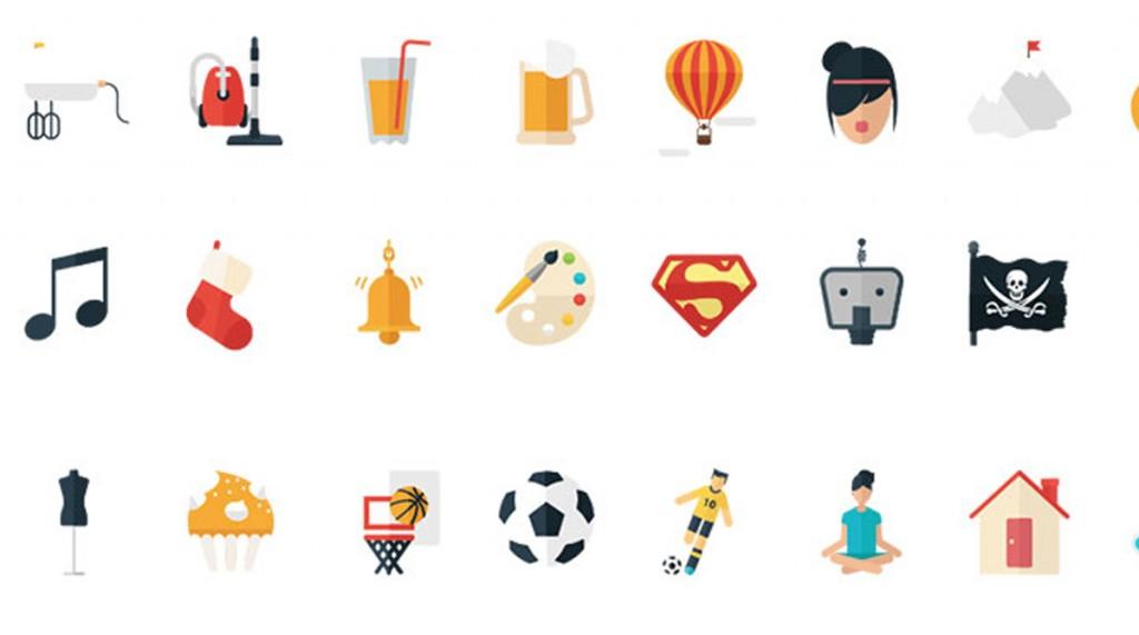 444 Flat Icons