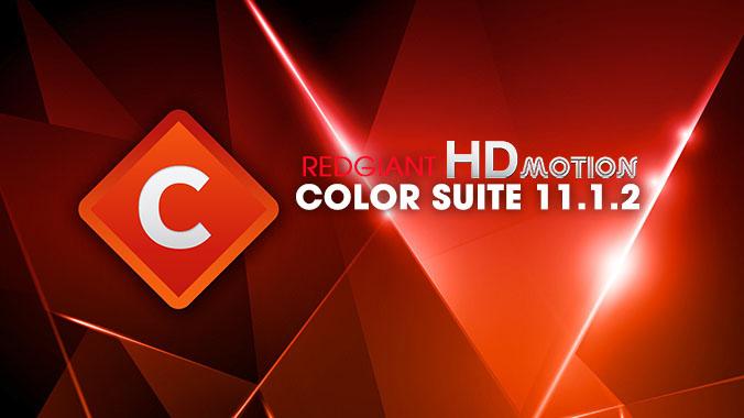 Redgiant Color Suite 11.1.2