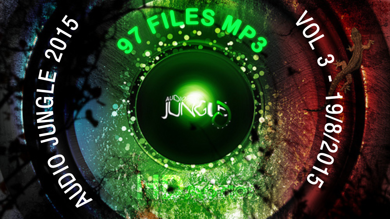 Audio Jungle Bundle 2015 vol.3